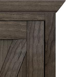 British Brace Panel Door Style 300x270 Vertical Barn Door Murphy Bed