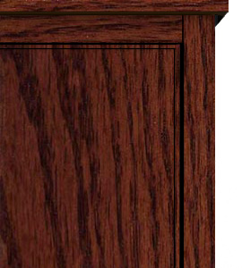 Contemporary Panel Door Style Top