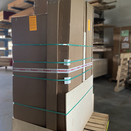Lancaster Handcraft Installation Upright Packaging 264 In-house Packaging