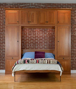 Lancaster Handcraft Side Cabinetry for Murphy Beds2 300x350 Murphy Beds
