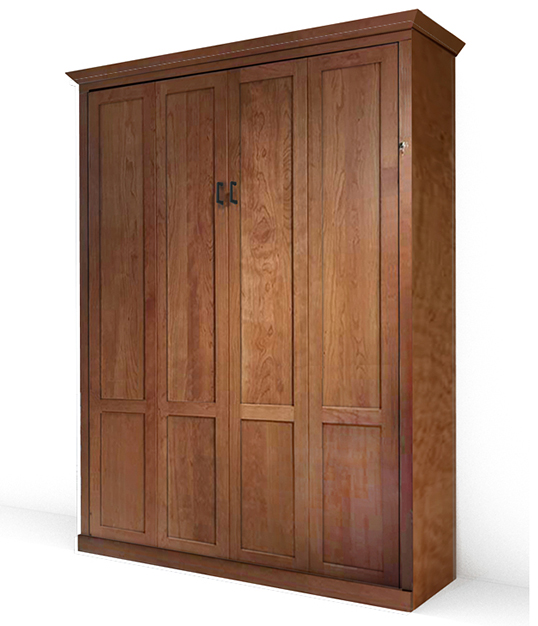 MB106M C IS 538x626 natural Queen Vertical Mission - Natural Stained Cherry