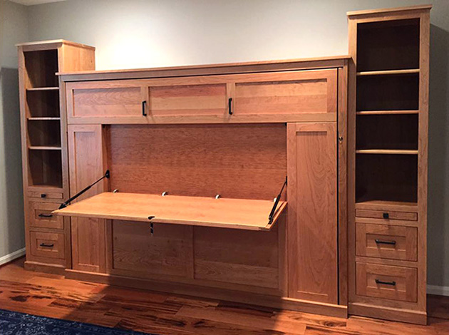 Murphy Bed Dropdown Desk 630x470 Dropdown Desk