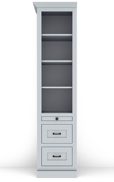 Murphy Bed Side Cabinet Collection 123M 18""