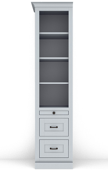 Murphy Bed Side Cabinet Collection 123S 18""