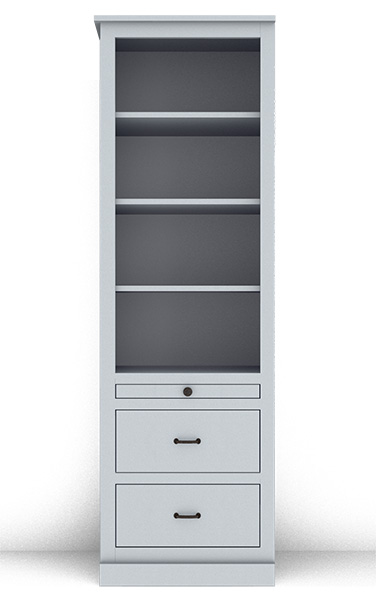 Murphy Bed Side Cabinet Collection 124C 24""