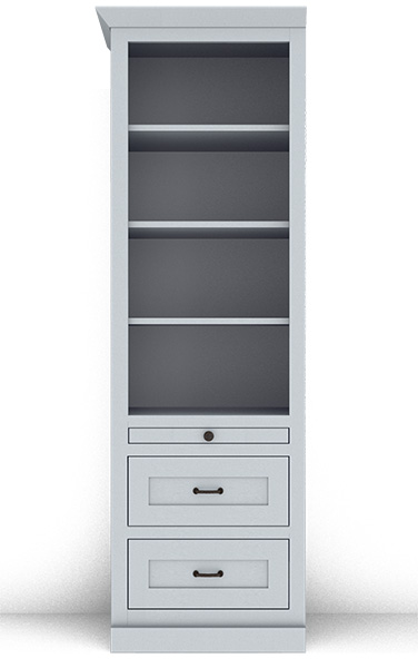 Murphy Bed Side Cabinet Collection 124M 24""