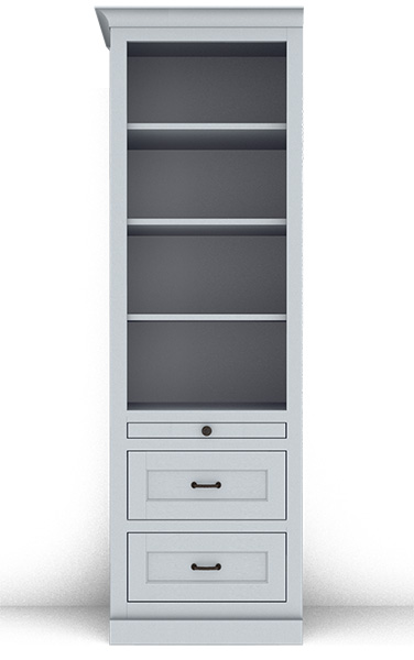 Murphy Bed Side Cabinet Collection 124S 24""