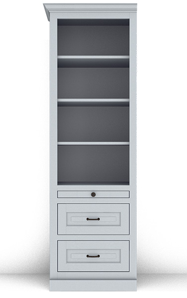 Murphy Bed Side Cabinet Collection 124T 24""