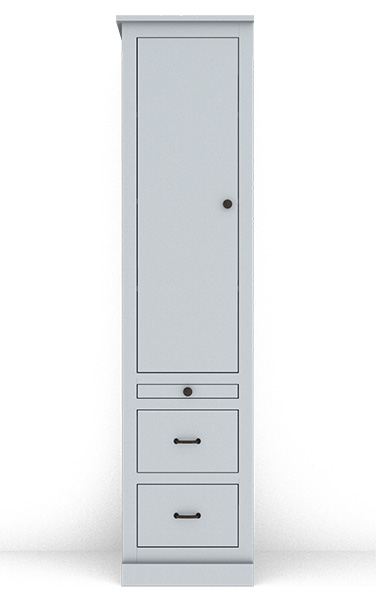 """Murphy Bed Side Cabinet Collection 126C 18"""""""