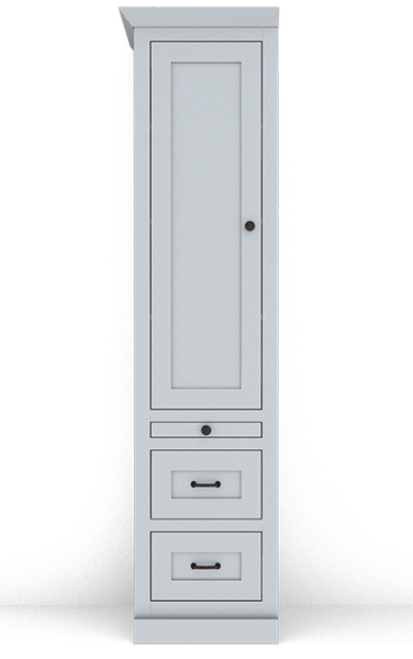 """Murphy Bed Side Cabinet Collection 126M 18"""""""