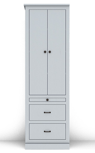 Murphy Bed Side Cabinet Collection 127Cv2 24""