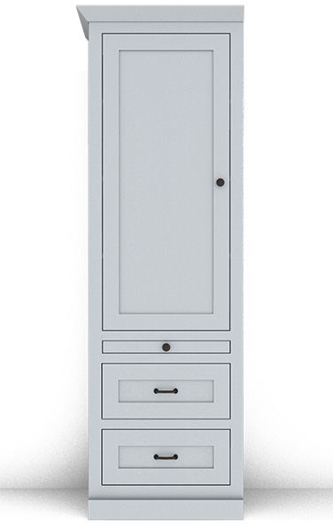 Murphy Bed Side Cabinet Collection 127M 24""