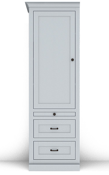 Murphy Bed Side Cabinet Collection 127S 24""