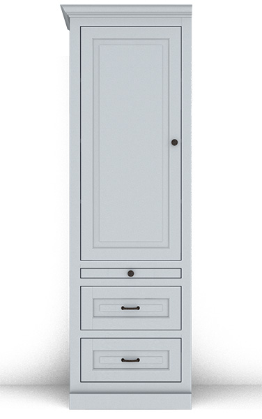 Murphy Bed Side Cabinet Collection 127T 24""