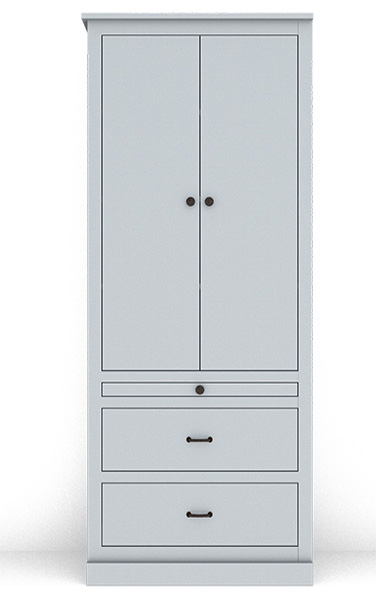 """Murphy Bed Side Cabinet Collection 128C 32"""""""