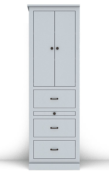 Murphy Bed Side Cabinet Collection 130Cv2 24""