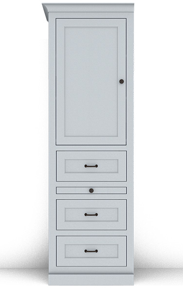 Murphy Bed Side Cabinet Collection 130S 24""