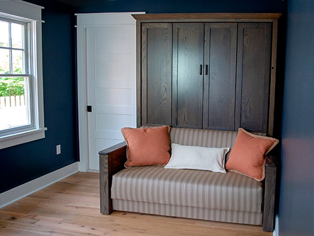 Murphy Bed Sofa closed Dual Function Murphy Bed Sofa - 