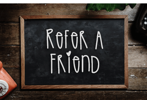 Refer a Friend siteSpot 480x313 Refer a Friend get $5