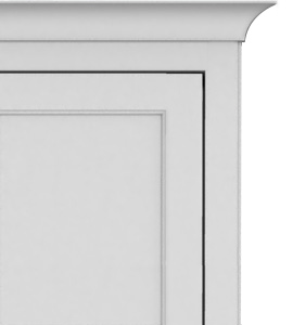Shaker Inset Panel Door Style Crown 270 Vertical Shaker Murphy Bed