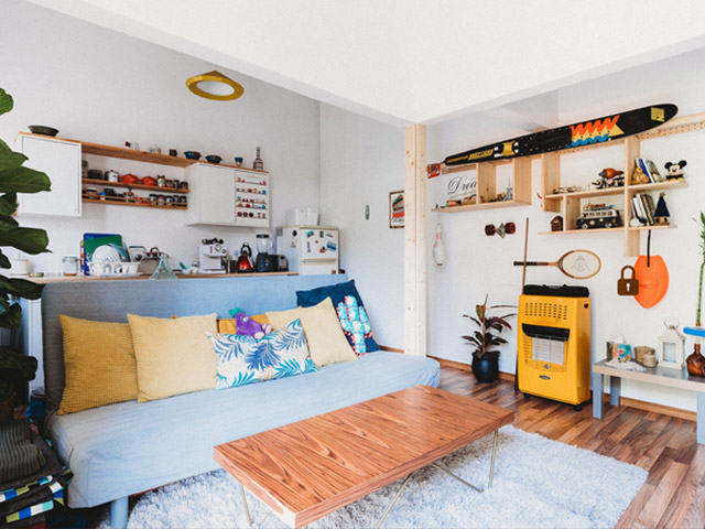 Small Space Shelves Eight Ways to Make Any Small Room Seem Bigger