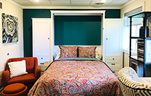 murphy bed office guestroom blog How to Turn Almost Any Space Into a Guest Room