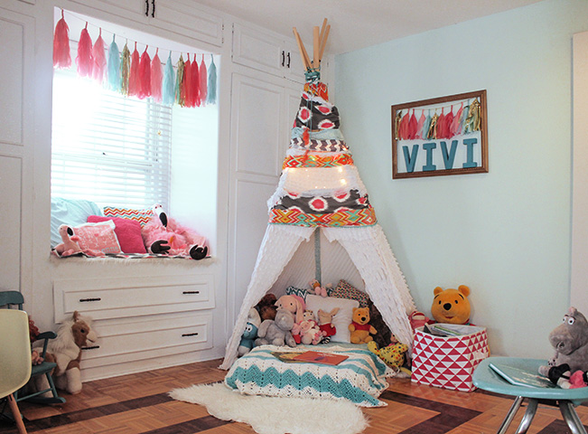 playroom dreamcather4 7 Tips to Combine a Playroom and Guest Room