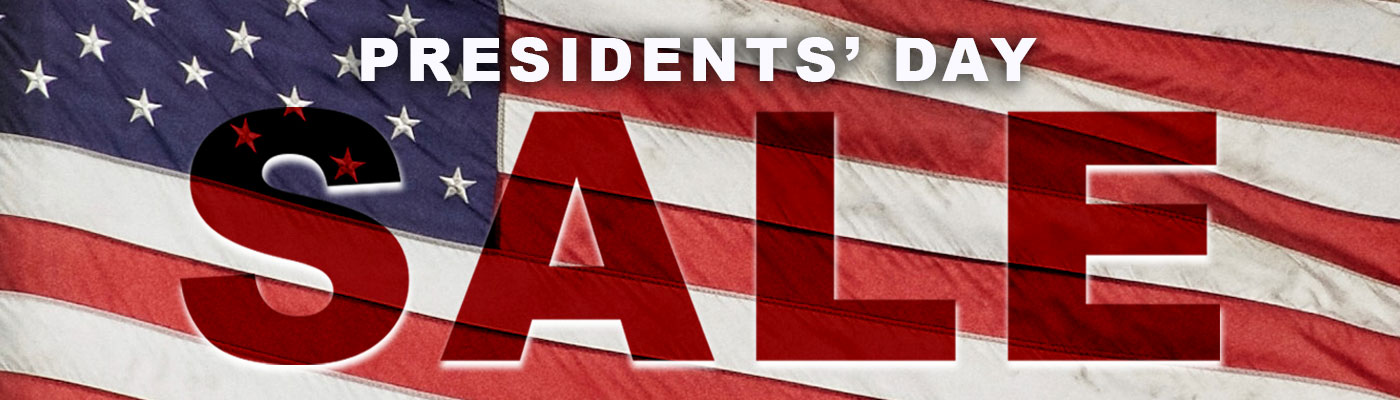 pres day sale info page header