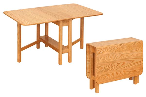 standard gateleg 600x400 Standard Gateleg Table