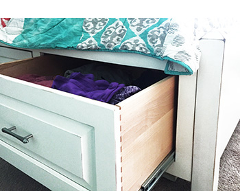 under bed storage top Space Saving Solutions for Bedrooms